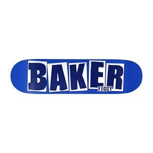 "Baker Figgy Brand Name 8.125"" Skateboard Deck - Blue"