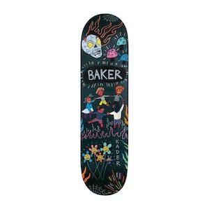 """Baker Kader Happy Campers 8.25"""" Skateboard Deck"""