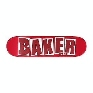 "Baker Spanky Brand Name 8.25"" Skateboard Deck - Red"