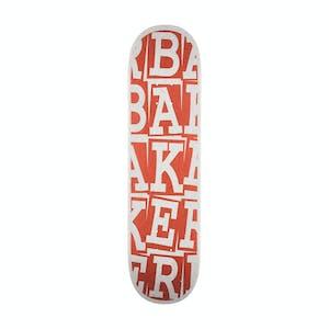 "Baker Tyson Ribbon Stack 8.38"" Skateboard Deck - Rust"