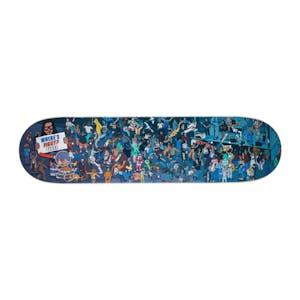 """Baker Where's Figgy? 8.0"""" Skateboard Deck"""