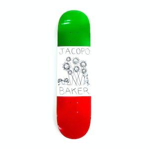 "Baker Jacopo Centrale 8.0"" Skateboard Deck"