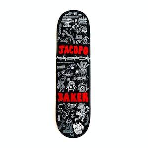 """Baker Jacopo Puff Puff 8.5"""" Skateboard Deck"""