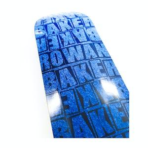 "Baker Rowan Pile 8.25"" Skateboard Deck - Blue"