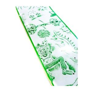 """Baker T-Funk Lunacy 8.38"""" Skateboard Deck - Green"""