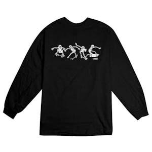 Baker Cremation Mayhem Long Sleeve T-Shirt - Black