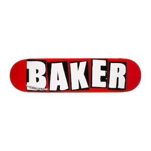 """Baker OG Logo 8.25"""" Skateboard Deck - White"""