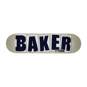 "Baker T-Funk Brand Name 8.5"" Skateboard Deck - Taupe"