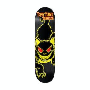 """Birdhouse Evil Cat 8.0"""" Skateboard Deck - Hawk"""