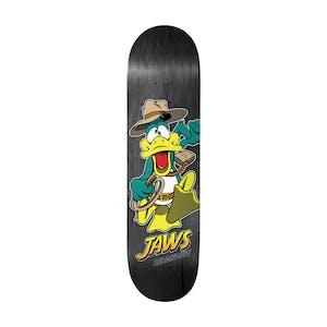 """Birdhouse Duck Jones 8.38"""" Skateboard Deck - Jaws"""