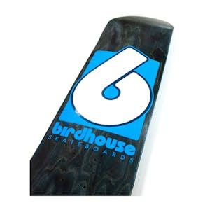 "Birdhouse B Logo 8.0"" Skateboard Deck - Black/Blue"