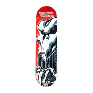 """Birdhouse Hawk Falcon II 8.0"""" Skateboard Deck - Red"""