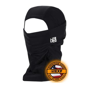 BlackStrap Expedition Hood Balaclava - Black