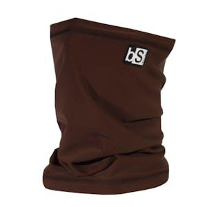 BlackStrap Tube Facemask - Chocolate Brown