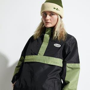 BLAK Anorec Snowboard Jacket 2021 - Black/Green