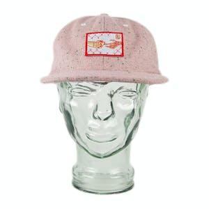 BLAK Splash Snapback Hat - Pink