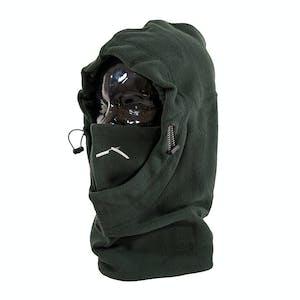 BLAK Hoodlum Hood II Facemask - Forest Green