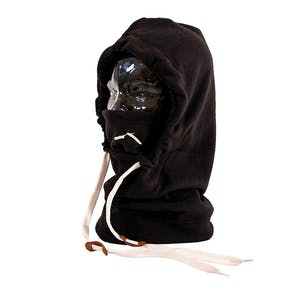 BLAK Hoodlum Hood Facemask - Black