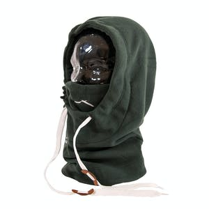 BLAK Hoodlum Hood Facemask - Forest Green