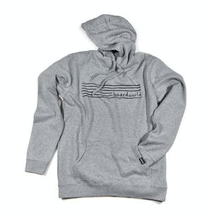 BOARDWORLD Stripes Hoodie - Grey