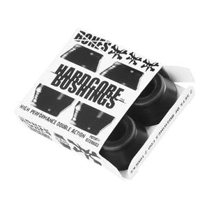 Bones Hardcore Hard Skateboard Bushings — Black