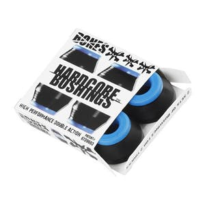 Bones Hardcore Soft Skateboard Bushings — Black