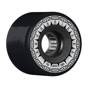 Bones ATF Rough Rider Tank 56mm Skateboard Wheels - Black
