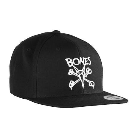 Bones Wheels Vato Wool Snapback Hat