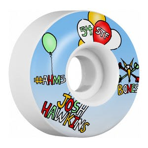 Bones STF Hawkins Happy 52mm Skateboard Wheels