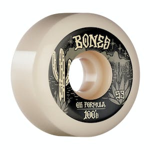 Bones 100's V5 Skateboard Wheels - Desert West