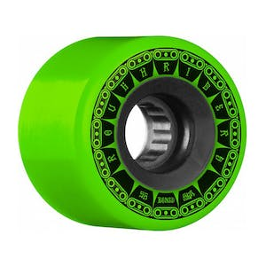 Bones ATF Rough Rider Tank 56mm Skateboard Wheels - Green