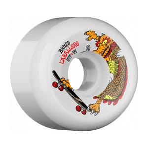 Bones SPF Caballero Dragon Skateboard Wheels - White