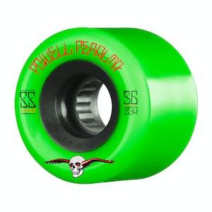 Powell-Peralta SSF G-Slides Skateboard Wheels - Green