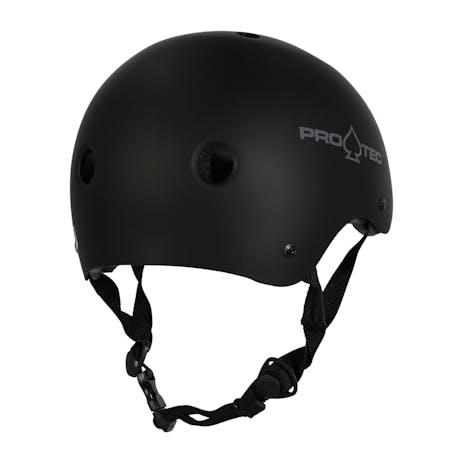 Pro-Tec Classic Certified Skate Helmet - Matte Black