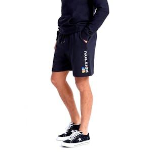 Brixton Stem X Fleece Short - Black