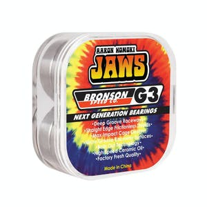 Bronson Jaws G3 Skateboard Bearings