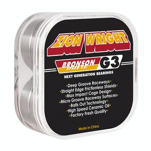 Bronson Zion G3 Skateboard Bearings