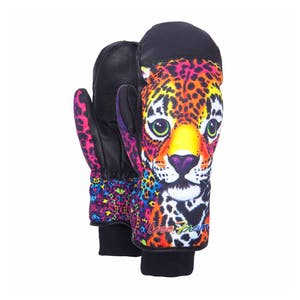 Celtek GORE-TEX Calypso Women's Snowboard Mitts - Lisa Frank Hunter