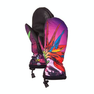 Celtek Bitten by a Womitten Women's Snowboard Mitts — Bird of Paradise