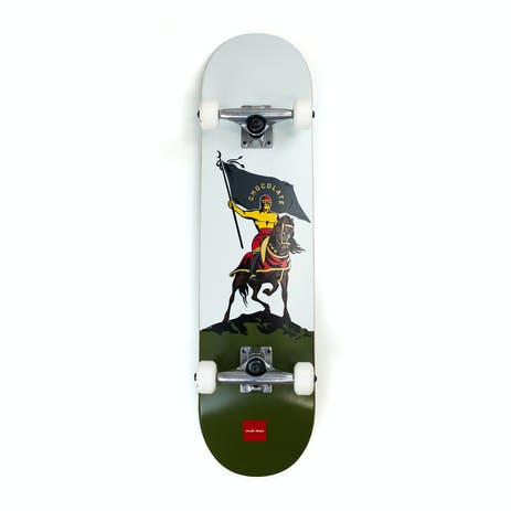 "Chocolate Alvarez Luchador 7.75"" Complete Skateboard"