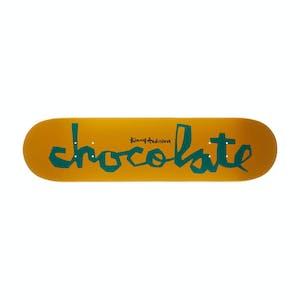 "Chocolate Anderson OG Chunk 8.0"" Skateboard Deck - Yellow/Green"