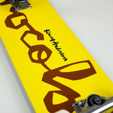 "Chocolate Anderson OG Chunk 7.75"" Complete Skateboard - Yellow"