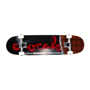 "Chocolate Bar Anderson 7.75"" Complete Skateboard"