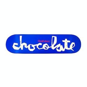 "Chocolate Alvarez OG Chunk 7.75"" Skateboard Deck - Blue"