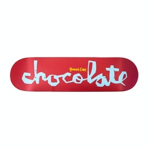 "Chocolate Cruz OG Chunk 8.18"" Skateboard Deck - Red"