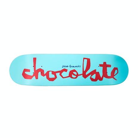 "Chocolate Fernandez OG Chunk 8.25"" Skateboard Deck - Light Blue"