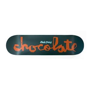 "Chocolate Perez OG Chunk 8.0"" Skateboard Deck - Forest"