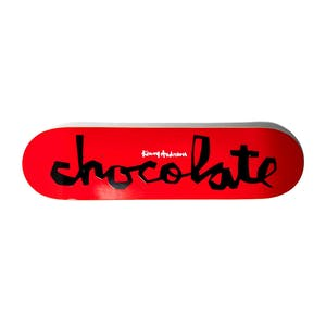 "Chocolate Anderson OG Chunk 8.125"" Skateboard Deck - Red"
