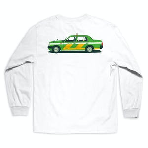 Chocolate World Taxis Long Sleeve T-Shirt - White