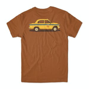 Chocolate World Taxis T-Shirt - Texas Orange